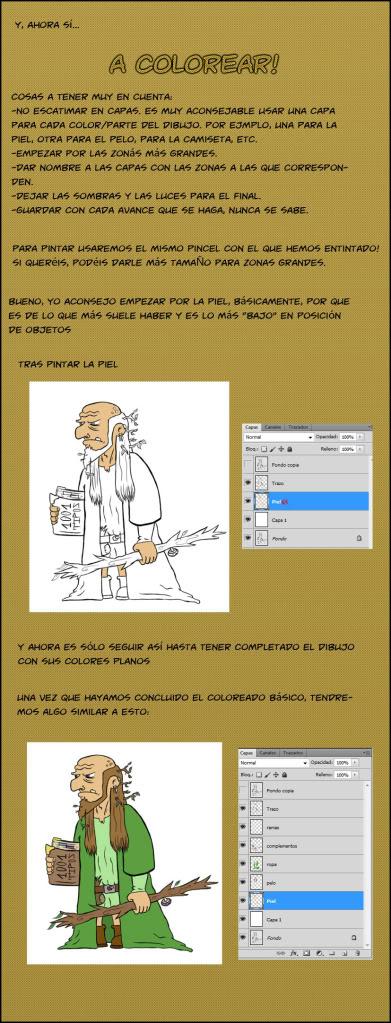 Entintar y pintar en PS CS5 [Tutorial] Tuto2