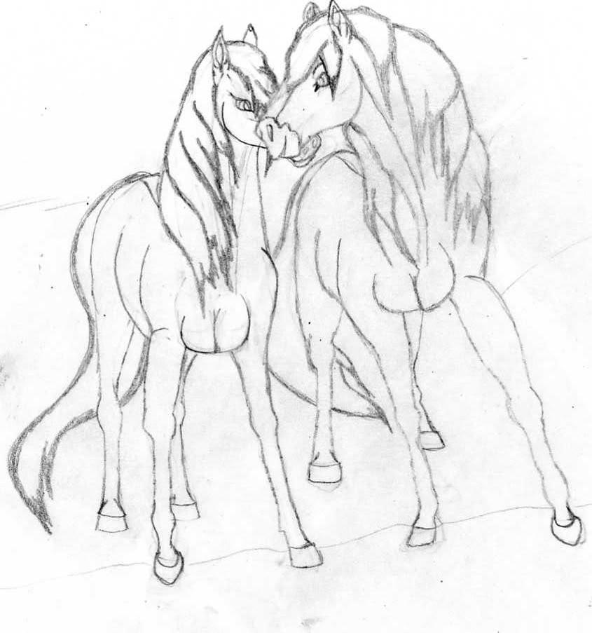 Galería de dibujos de Kivana - Página 3 Caballos015