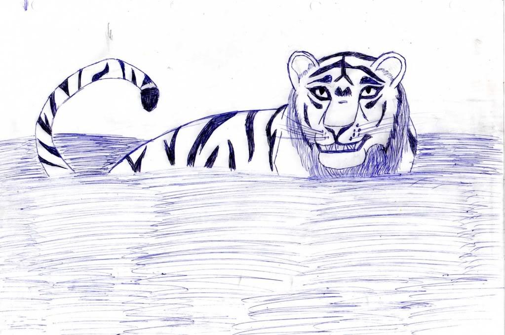 Galería de dibujos de Kivana - Página 2 Tigre013