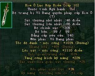 ( Hướng Dẫn Cách Ép Đồ Kim Ô) Khong Bi Rot Võ Lâm Thu Phí Chính Thức Cập Nhật Phiên Bản Mới 8.0.6 Kim-1