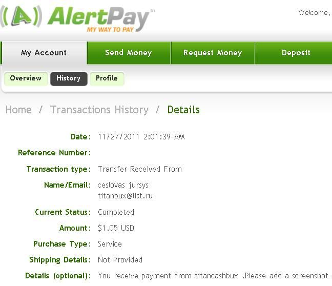 my 1st payout Paymentproof-2