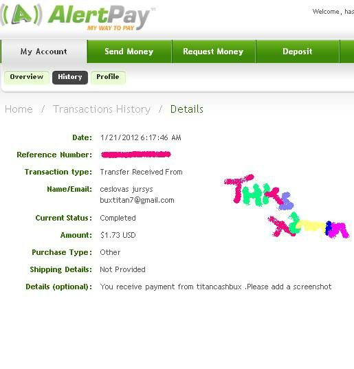 my payout thks admin Ttn-3