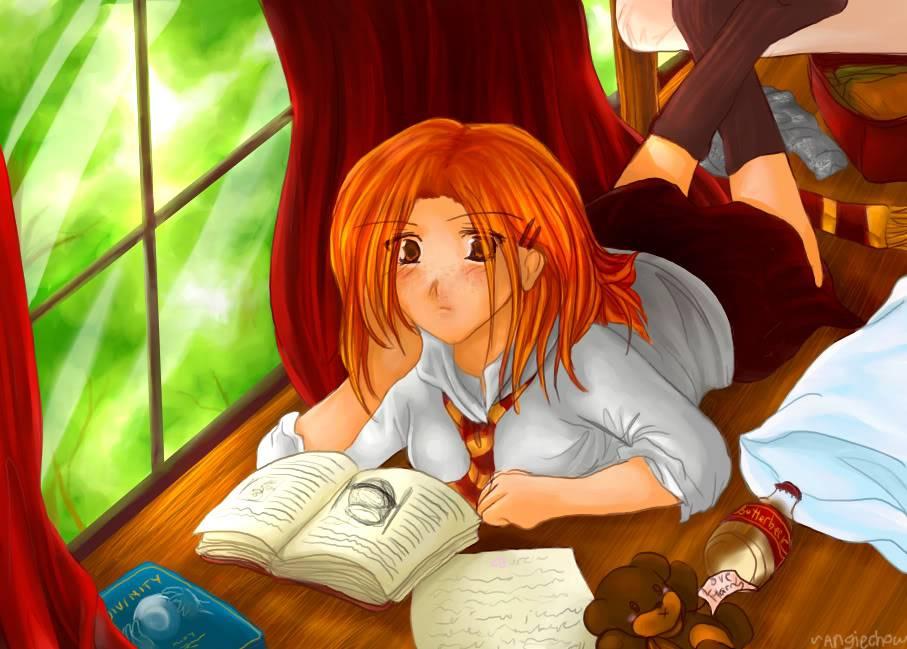 ѕprιɴɢ vιɴeѕ нιɢн ll oɴly тнe ɢιғтed мαĸe ιт ll [[Open]] Ginny_Weasley_by_angiechow