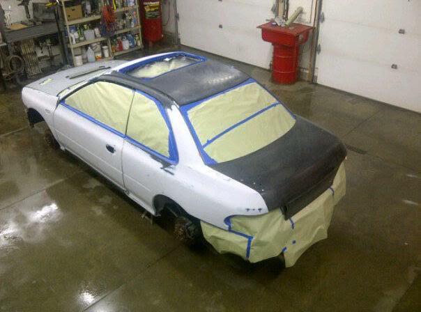 Bryton's 99 Subaru 2.5rs Before