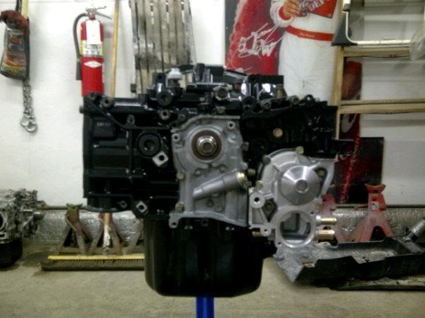 Bryton's 99 Subaru 2.5rs Engine
