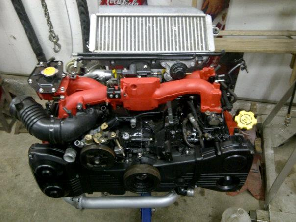 Bryton's 99 Subaru 2.5rs Mostway
