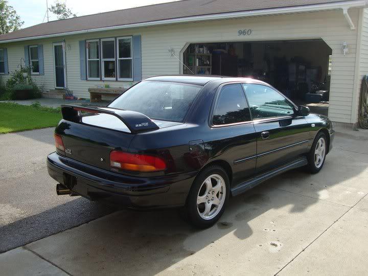 Bryton's 99 Subaru 2.5rs Backangle