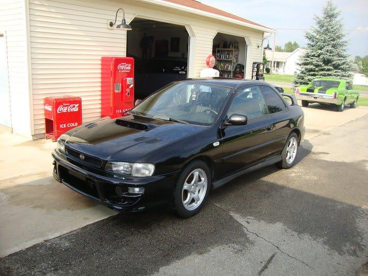 Bryton's 99 Subaru 2.5rs Frontangle