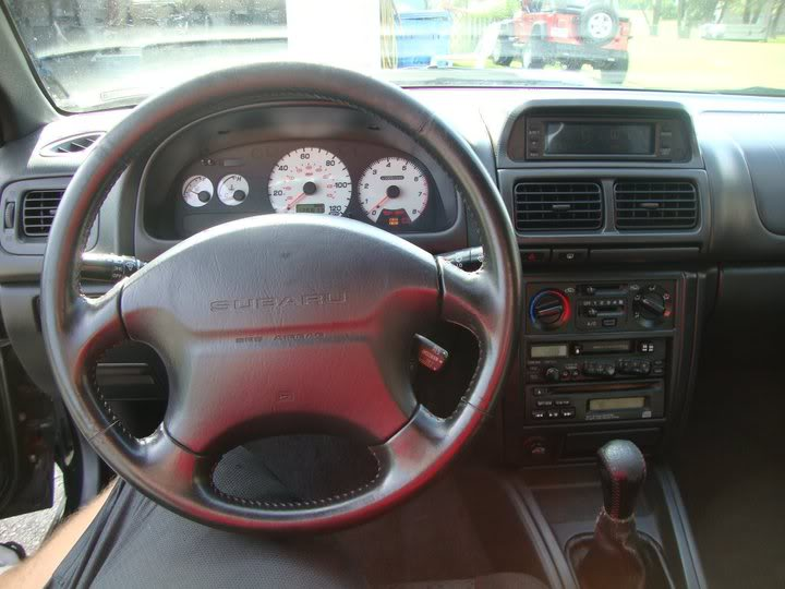 Bryton's 99 Subaru 2.5rs Interior