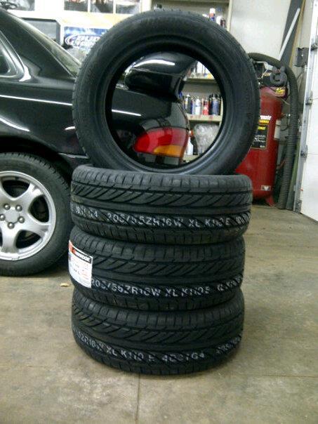 Bryton's 99 Subaru 2.5rs Tires