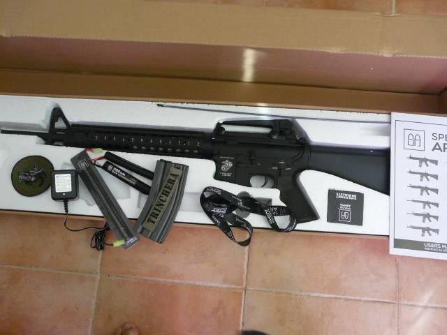 SPECNA ARMS review M16A4 P1140006