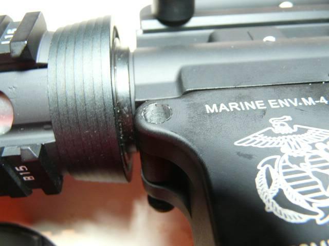 SPECNA ARMS review M16A4 P1140036