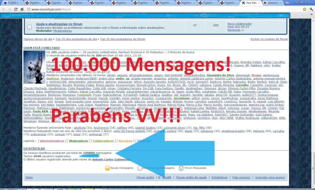 100.000 mensagens! Semttulo