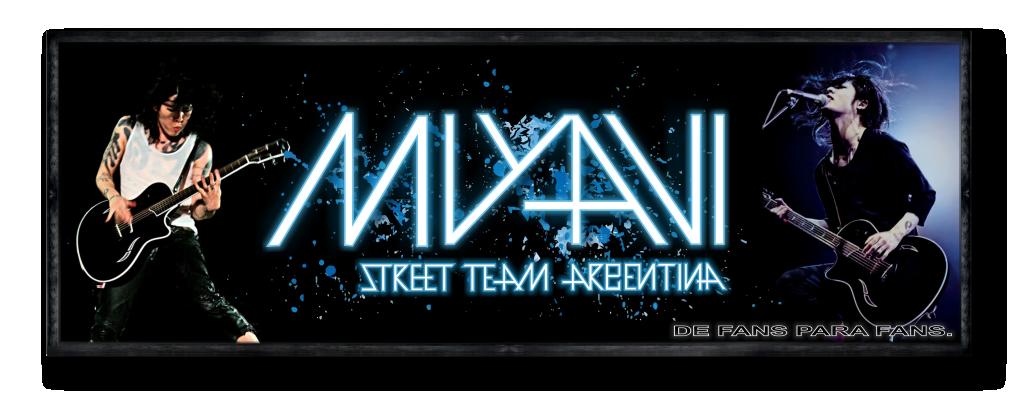 Miyavi Street Team Argentina