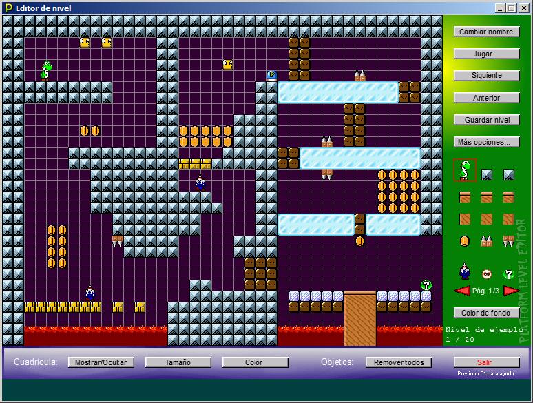 Platform Level Editor 1.4.1 [Nueva versión] Screen001