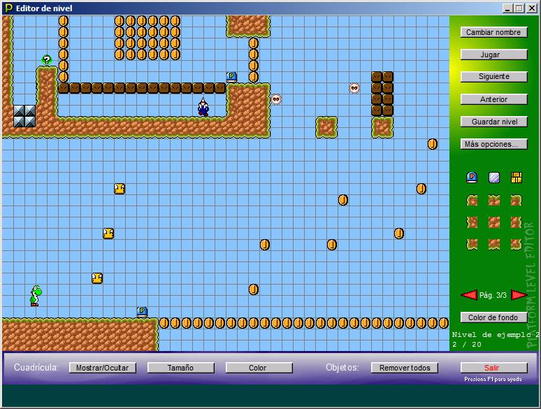 Platform Level Editor 1.4.1 [Nueva versión] Screen002