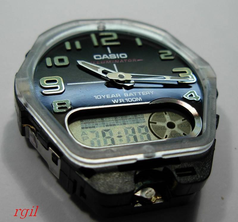 casio - HydroMDP : réalisation d'une Casio G-Shock équipression - Page 11 Casioana-digi02