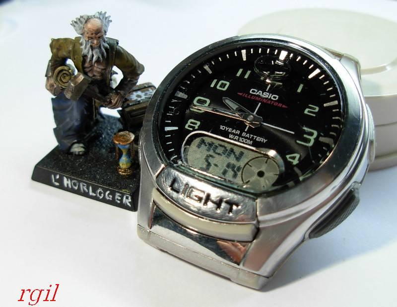 casio - HydroMDP : réalisation d'une Casio G-Shock équipression - Page 12 Casioana-digi12