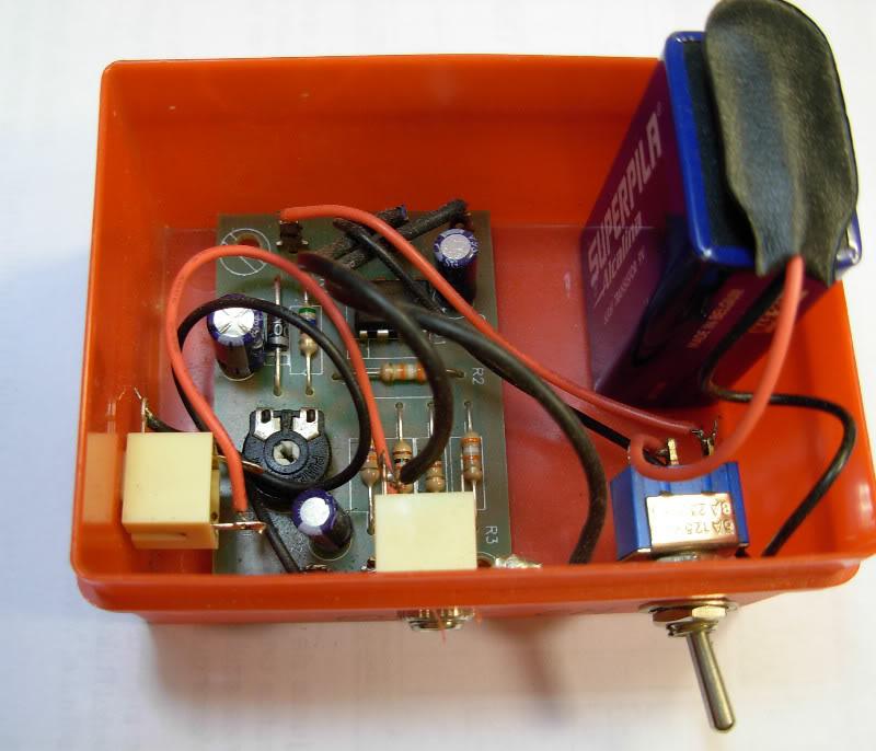 Fabriquer un chronocomparateur très bon marché. Chrono04