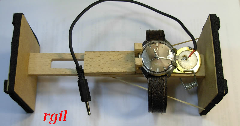 Fabriquer un chronocomparateur très bon marché. Chrono12