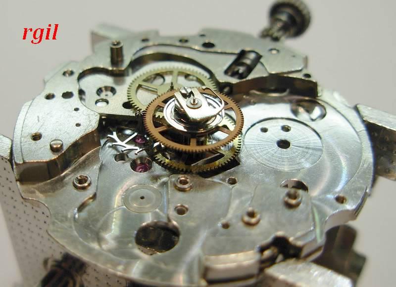 Révision de ma Seiko 6139 A. Tout complete Seiko6139A023