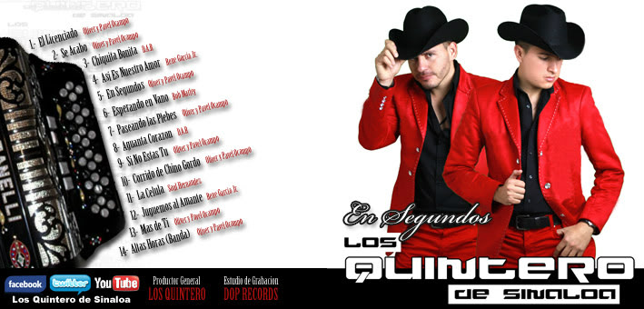 Los Quintero De Sinaloa - En Segundos (Cd 2011)  QUINTEROCDCOVER