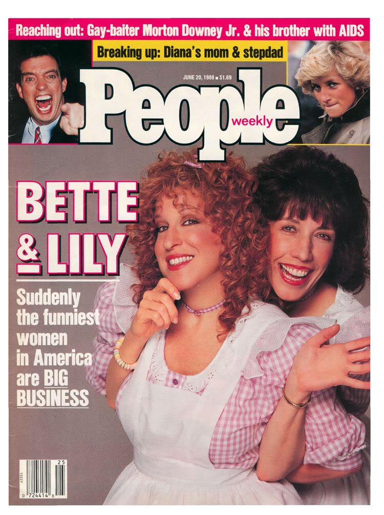 PEOPLE MAGAZINE:June 20, 1988, The First Ladies of Laughter 19880620-750-0