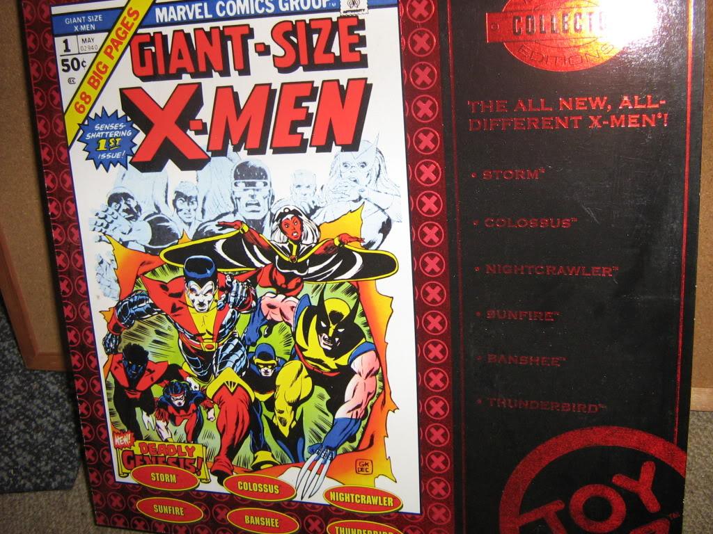 Marvel Universe X-Men Box Set. IMG_4108