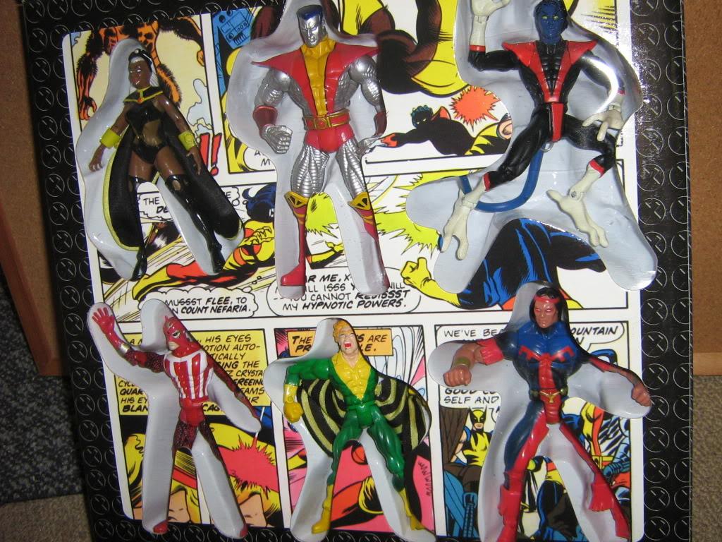 Marvel Universe X-Men Box Set. IMG_4109