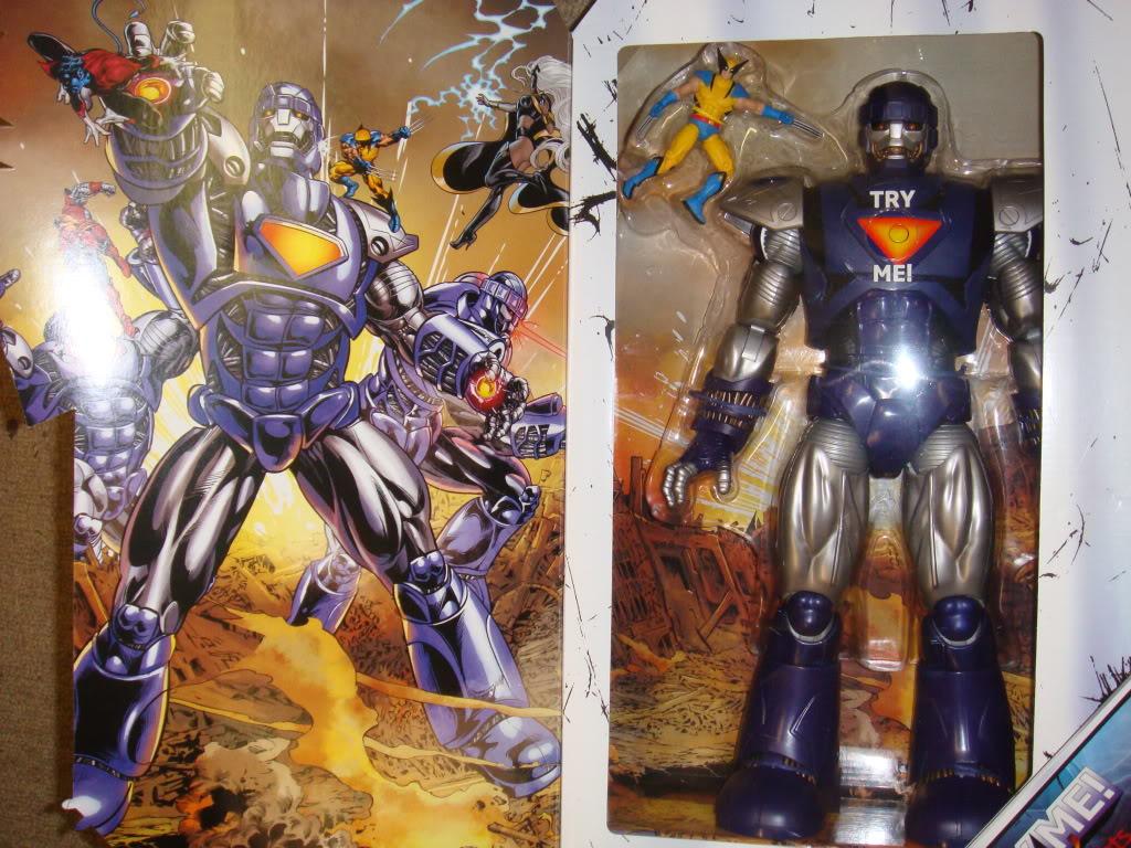 "New Sentinel + 6"" Iron Man figures Figures090811017"