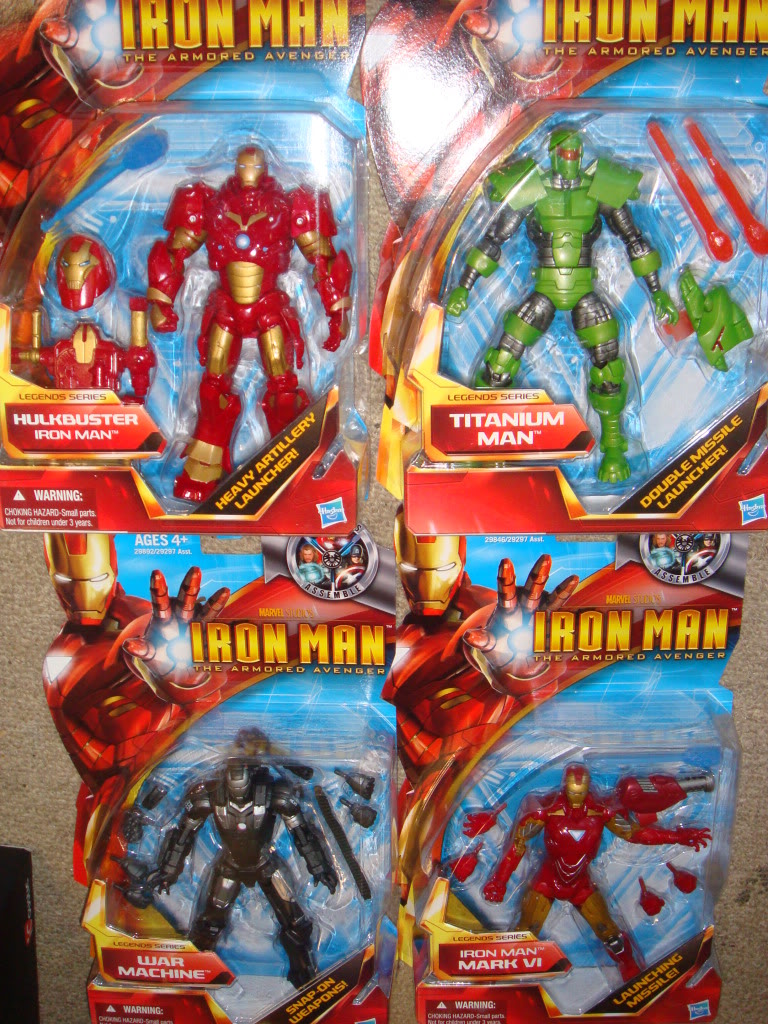 "New Sentinel + 6"" Iron Man figures Figures090811024"