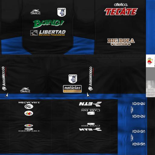 Icaros Kits : LIGA MX   Jaguares GDB   Descarga!!!! Tercero