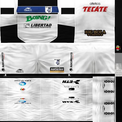 Icaros Kits : LIGA MX   Jaguares GDB   Descarga!!!! Visita-1