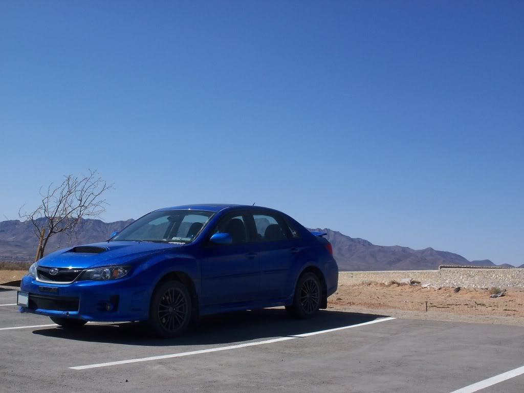 2011 WRX (Roxie) going rally style slowly 101_0435