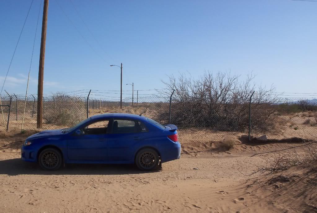 2011 WRX (Roxie) going rally style slowly 101_0450