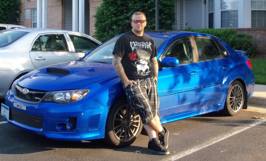 2011 WRX (Roxie) going rally style slowly Mine07