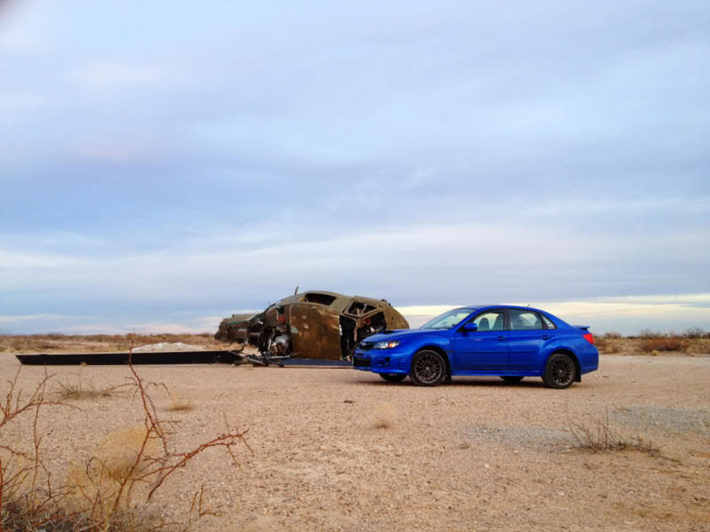 2011 WRX (Roxie) going rally style slowly Image-55040308