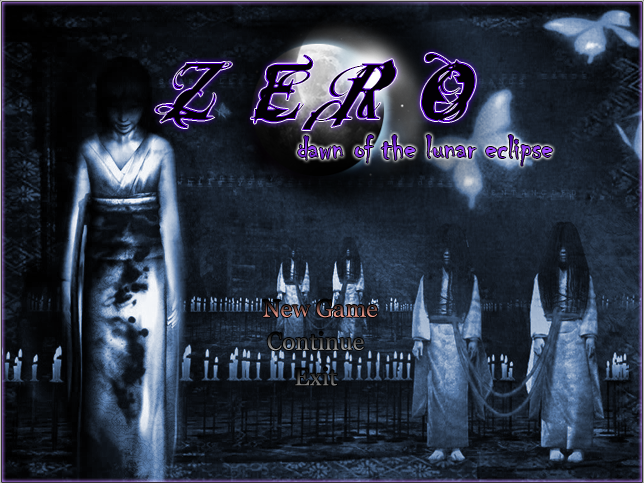 ZERO: Dawn of The Lunar Eclipse Teladetitulo