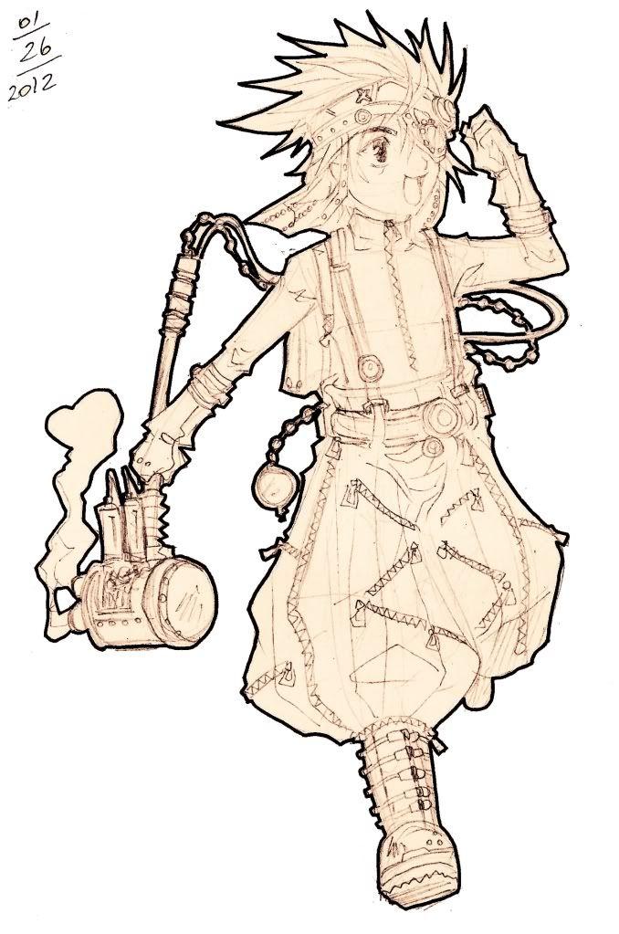 Caderno de Sketchs da Mari °3°)/ DONDON_SteamPunk00