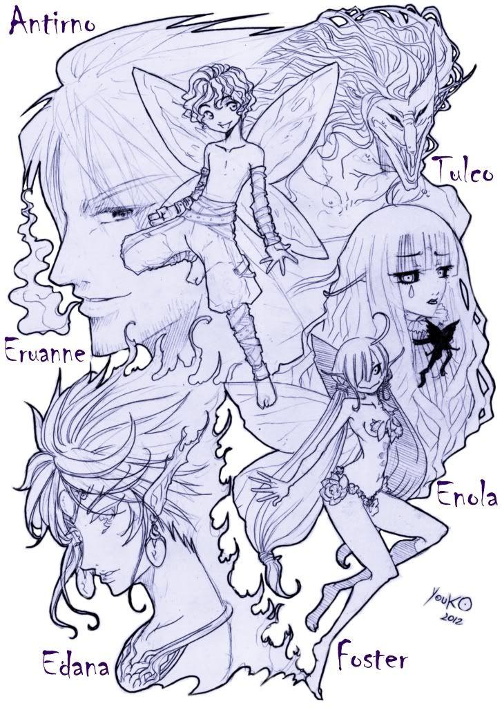 Caderno de Sketchs da Mari °3°)/ Imagem9