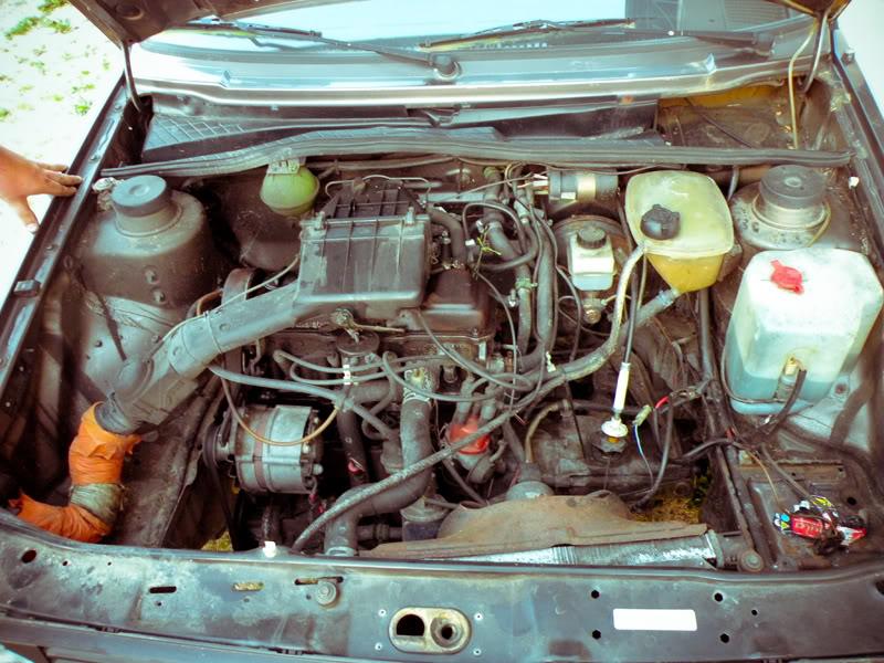 Golf 2 '84 2.8L VR6. LightRoomED-4474