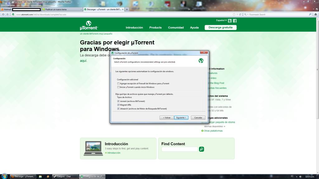 Tutorial para descargar Torrents. 3