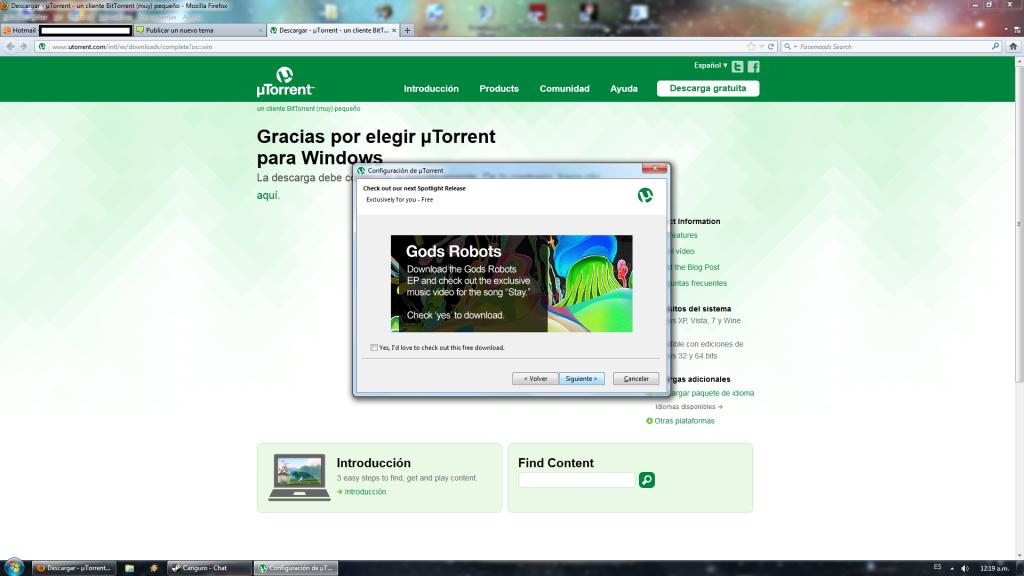 Tutorial para descargar Torrents. 4