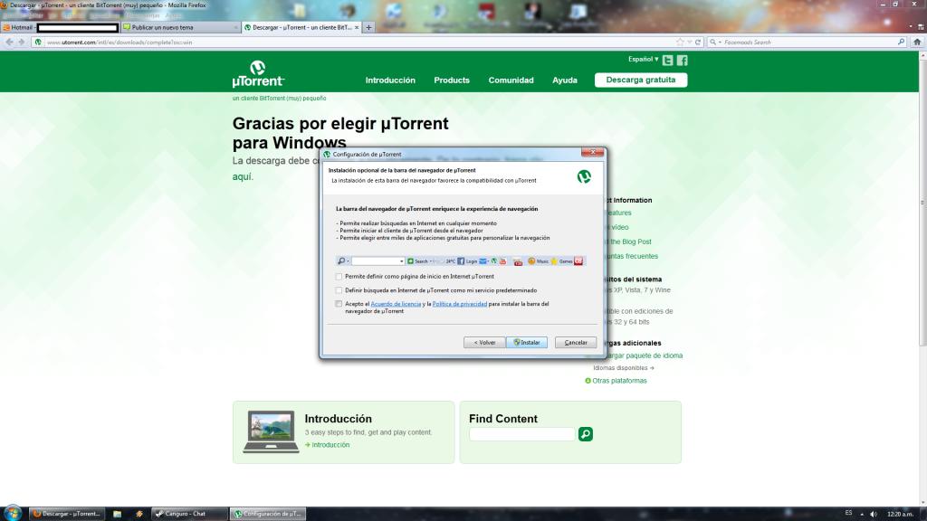 Tutorial para descargar Torrents. 5