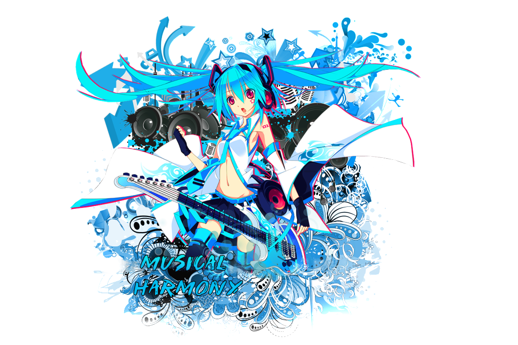 The sushi factory 2.0 MikuWallpaperv5