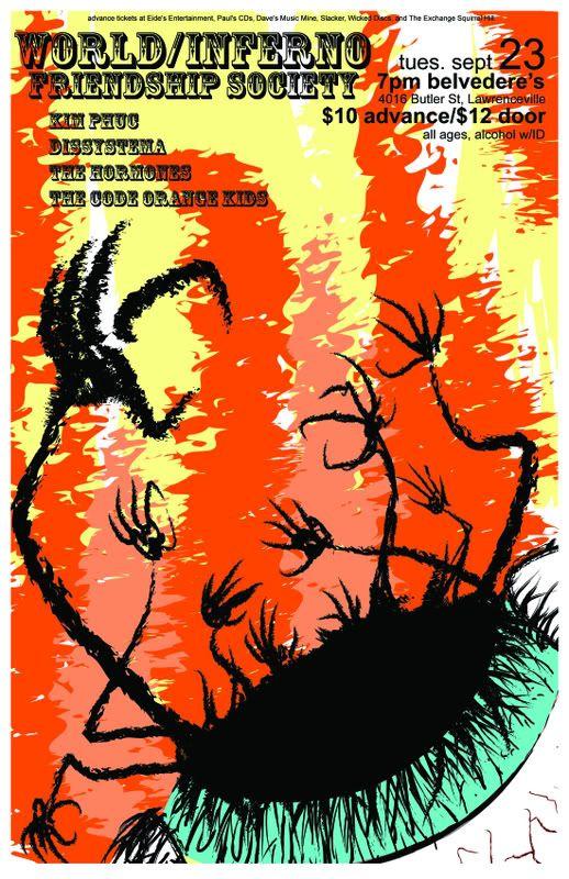 World/Inferno Friendship Society. Wifscolorlow