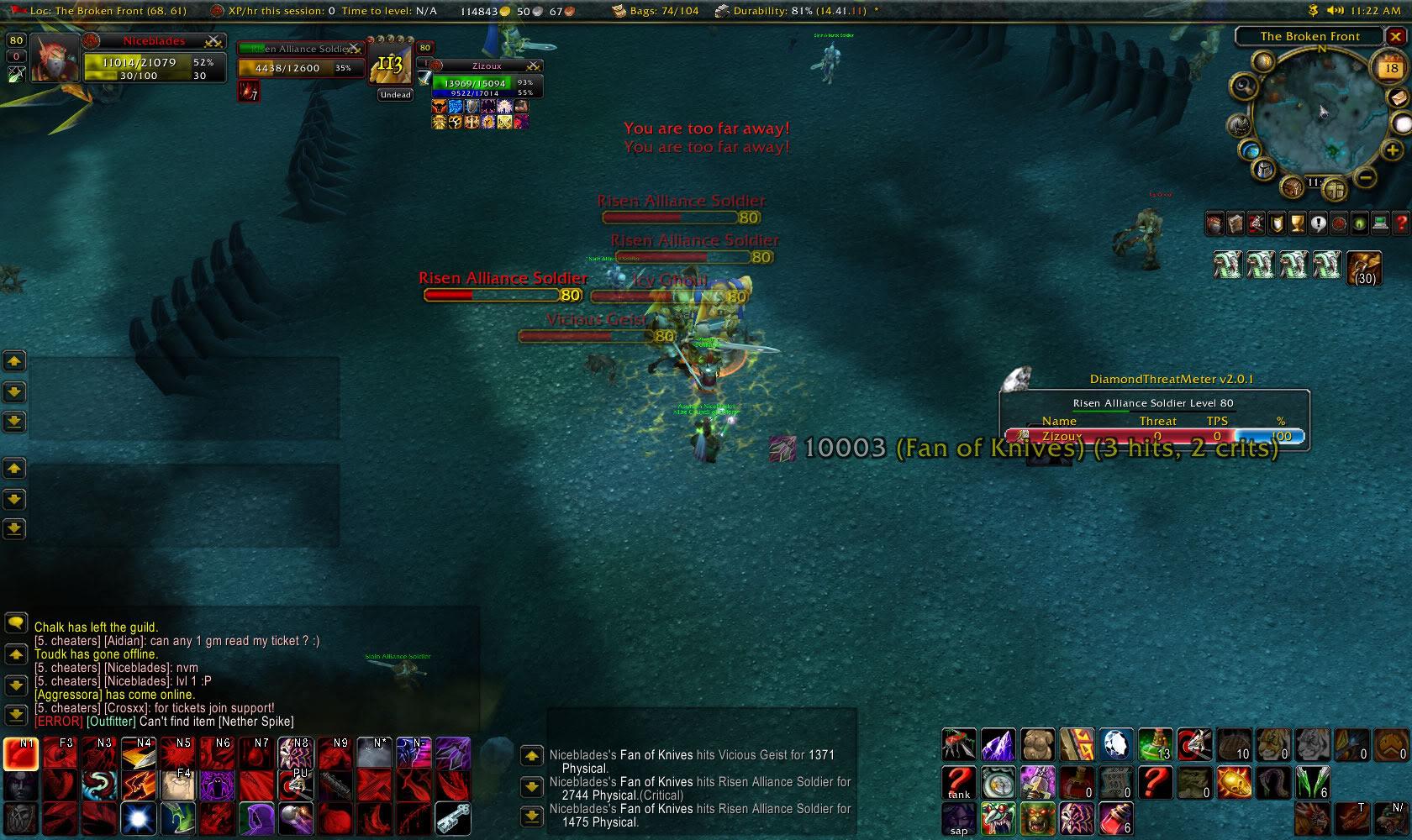 lmao tier3 shaman higher hit then meh donor rogue WoWScrnShot_051809_182210
