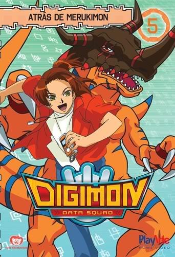Digimon Adventures 1ª A 5ª Temporada PT-PT  Vol5