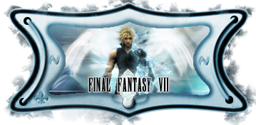 Artesanal Final Fantasy VII SIMPLE ~ LeinaD ARTESANALFF