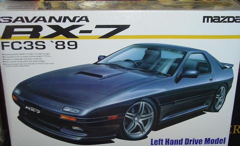 plusieurs kits neuf a vendre(skyline,RX-7,Boss302,shelby...) 1989SavanaRX-7